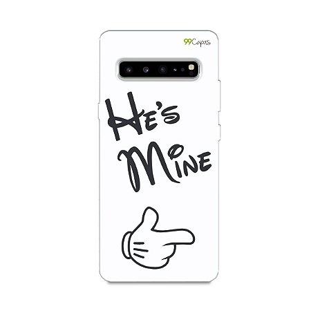Capa para Galaxy S10 - He's Mine