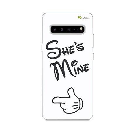 Capa para Galaxy S10 - She's Mine