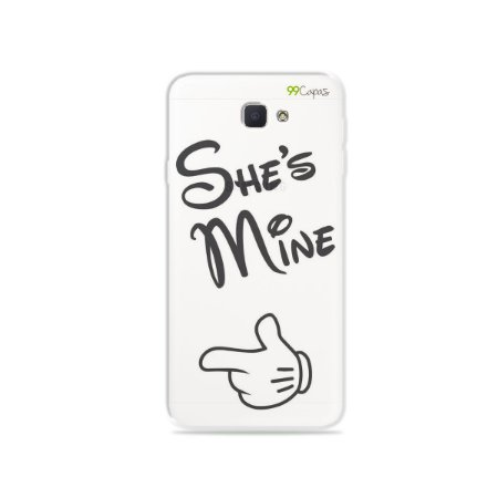 Capa para Galaxy J7 Prime - She's Mine