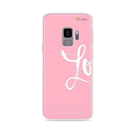 Capa para Galaxy S9 - Love 1