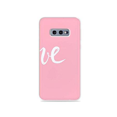 Capa para Galaxy S10e - Love 2