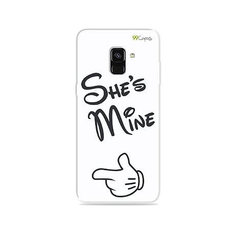 Capa para Galaxy A8 Plus 2018 - She's Mine