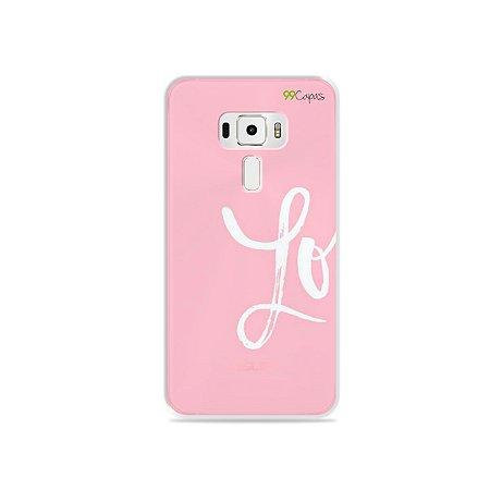 Capa para Asus Zenfone 3 - 5.5 Polegadas - Love 1