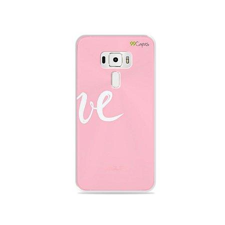 Capa para Asus Zenfone 3 - 5.5 Polegadas - Love 2