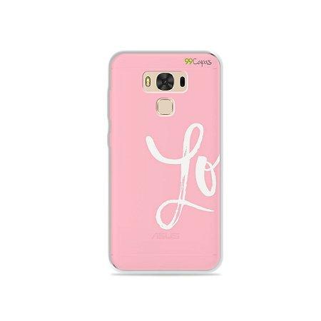 Capa para Asus Zenfone 3 Max - 5.5 Polegadas - Love 1