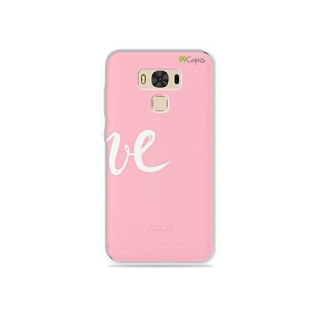 Capa para Asus Zenfone 3 Max - 5.5 Polegadas - Love 2