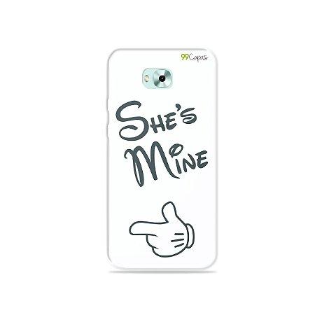 Capa para Zenfone 4 Selfie - She's Mine