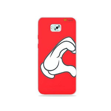 Capa para Zenfone 4 Selfie - Coração Mickey