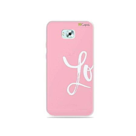 Capa para Zenfone 4 Selfie - Love 1