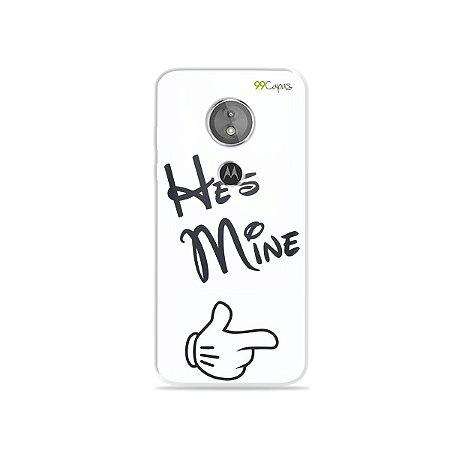 Capa para Moto E5 - He's Mine
