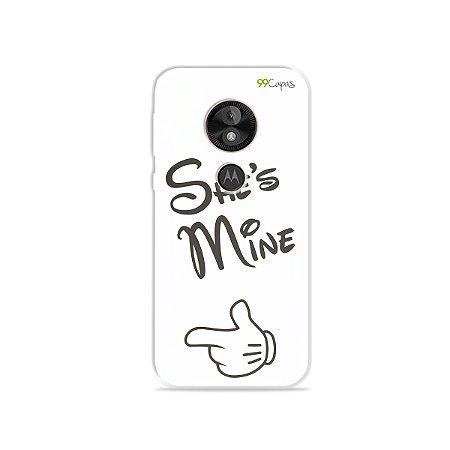 Capa para Moto E5 Play - She's Mine