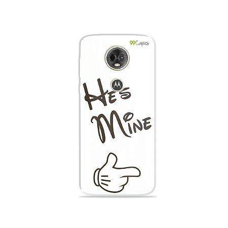 Capa para Moto E5 Plus - He's Mine