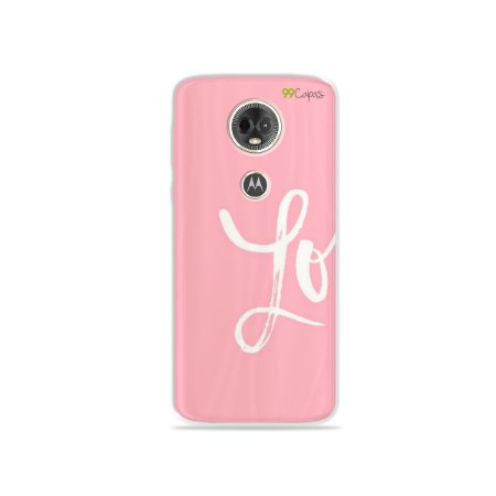 Capa para Moto E5 Plus - Love 1