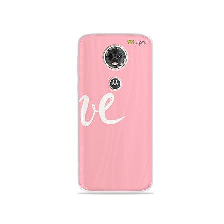 Capa para Moto E5 Plus - Love 2