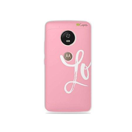 Capa para Moto G5 - Love 1