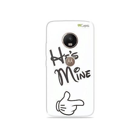 Capa para Moto G5 Plus - He's Mine
