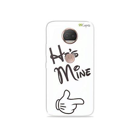Capa para Moto G5S Plus - He's Mine