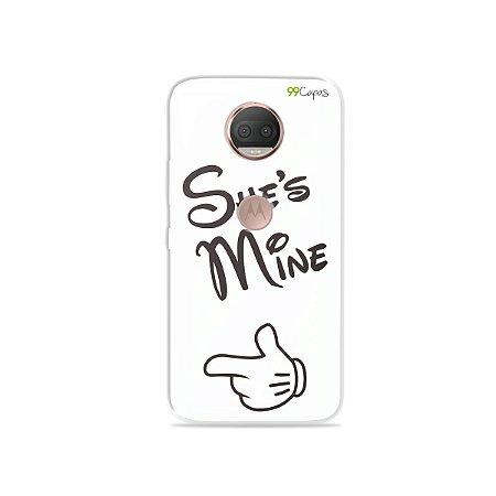 Capa para Moto G5S Plus - She's Mine