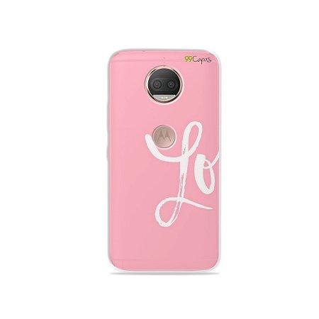 Capa para Moto G5S Plus - Love 1