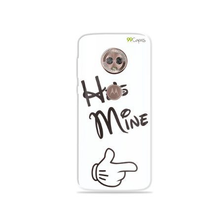 Capa para Moto G6 Plus - He's Mine