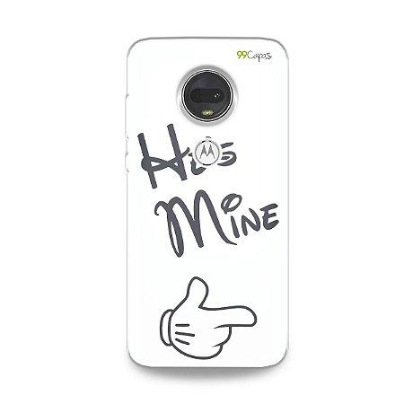 Capa para Moto G7 - He's Mine