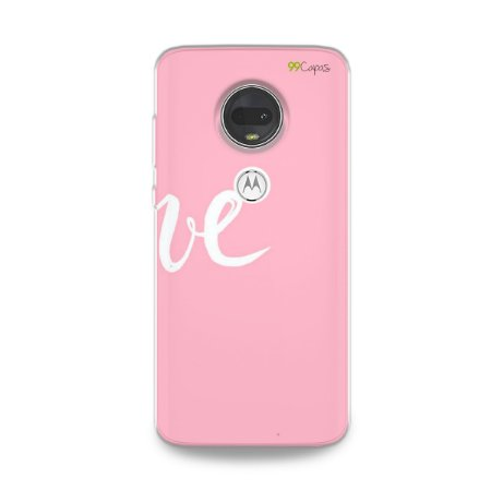 Capa para Moto G7 - Love 2