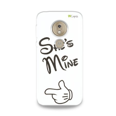 Capa para Moto G7 Play - She's Mine