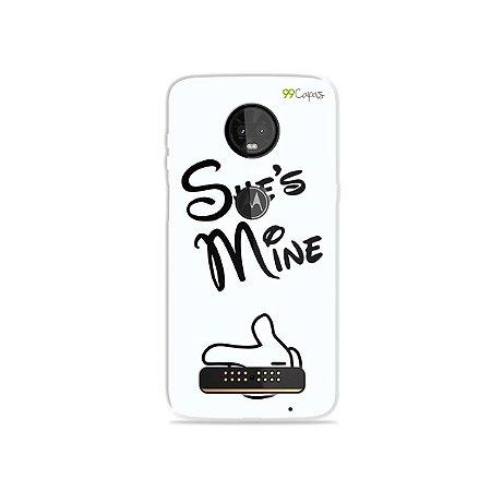 Capa para Moto Z3 Play - She's Mine