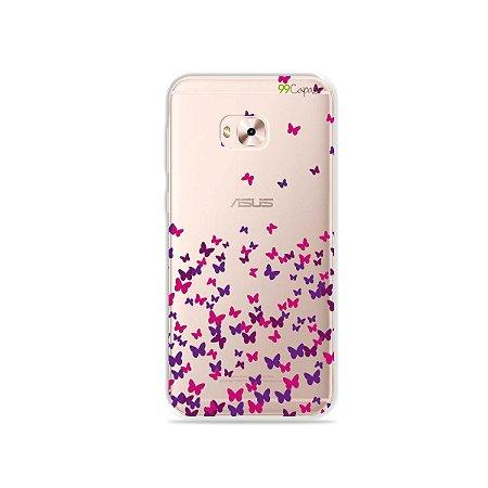 Capa para Zenfone 4 Selfie Pro - Borboletas Flutuantes