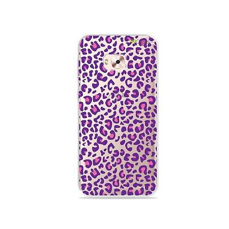 Capa para Zenfone 4 Selfie Pro - Animal Print Purple