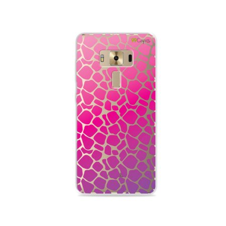Capa para Zenfone 3 Deluxe - 5.7 Polegadas - Animal Print Pink