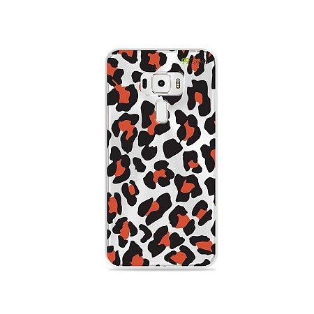 Capa para Asus Zenfone 3 - 5.2 Polegadas - Animal Print Red