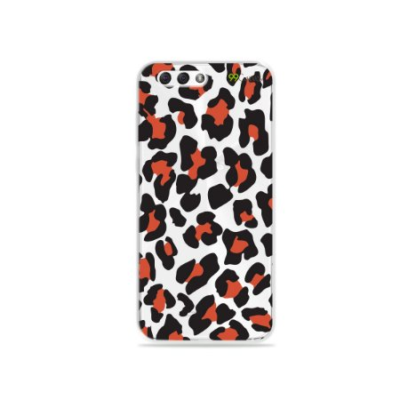 Capa para Zenfone 4 - Animal Print Red