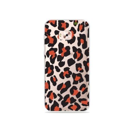 Capa para Zenfone 4 Selfie Pro - Animal Print Red