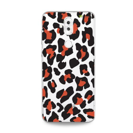 Capa para Zenfone 5 Selfie Pro - Animal Print Red