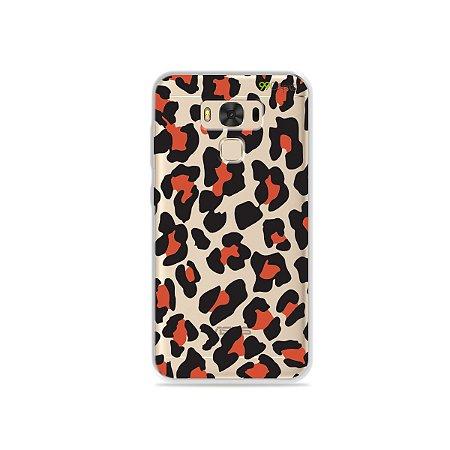 Capa para Asus Zenfone 3 Max - 5.5 Polegadas - Animal Print Red