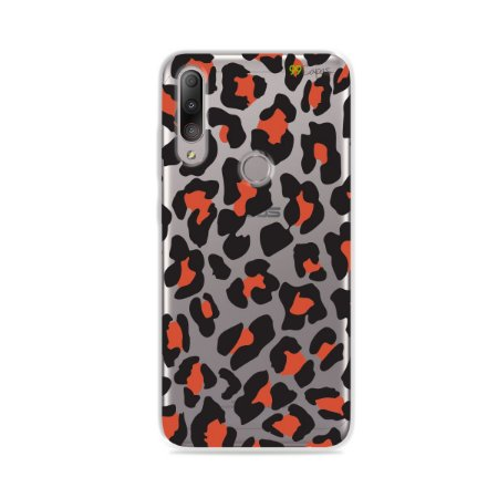 Capa para Zenfone Max Shot - Animal Print Red