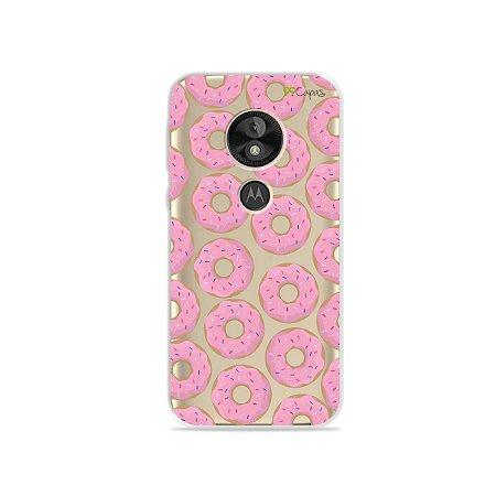 Capa para Moto E5 Play - Donuts