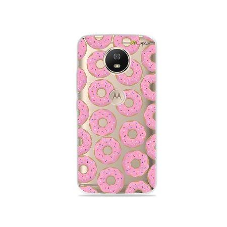Capa para Moto G5S - Donuts