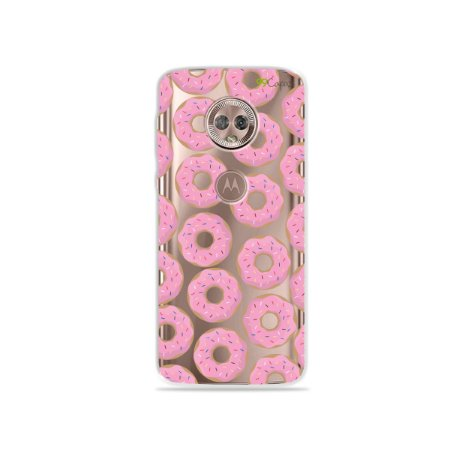Capa para Moto G6 - Donuts