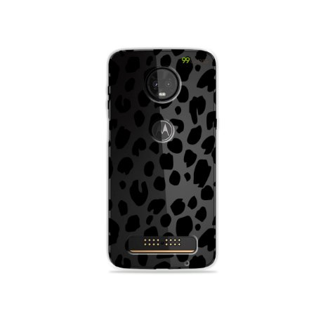 Capa para Moto Z3 Play - Animal Print Basic