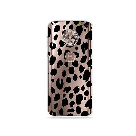 Capa para Moto G6 Plus - Animal Print Basic