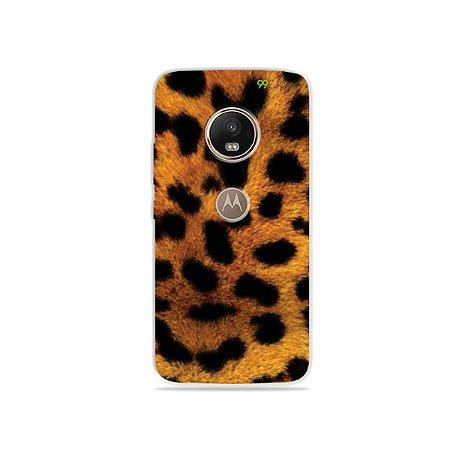 Capa para Moto G5 - Onça