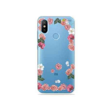 Capa para Xiaomi Mi 8 - Pink Roses