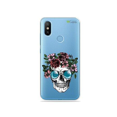 Capa para Xiaomi Mi 8 - Caveira