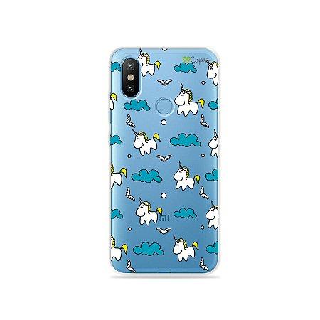 Capa para Xiaomi Mi 8 - Unicórnio