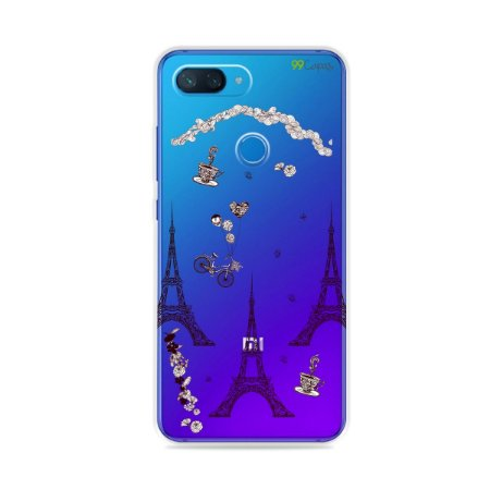 Capa para Xiaomi Mi 8 Lite - Paris