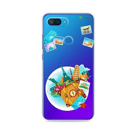 Capa para Xiaomi Mi 8 Lite - Memórias