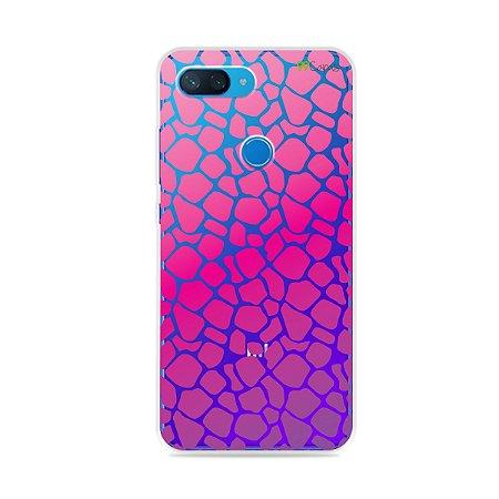 Capa para Xiaomi Mi 8 Lite - Animal Print Pink