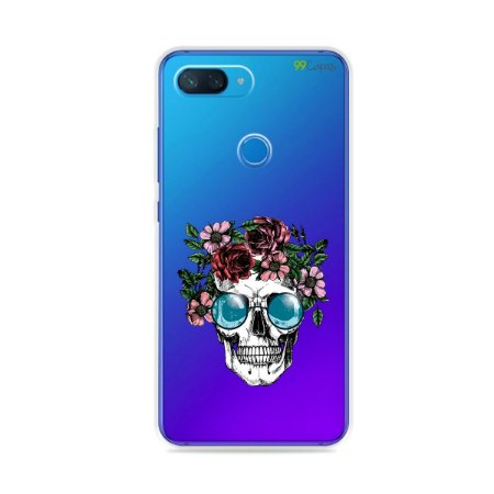 Capa para Xiaomi Mi 8 Lite - Caveira